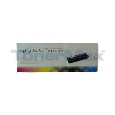 MEDIA SCIENCES TONER MAGENTA FOR OKI C5000